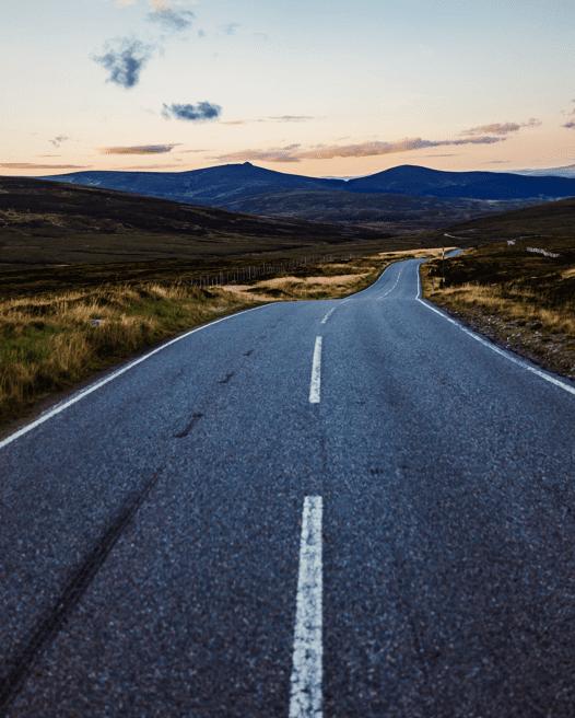 Yorkshire open road