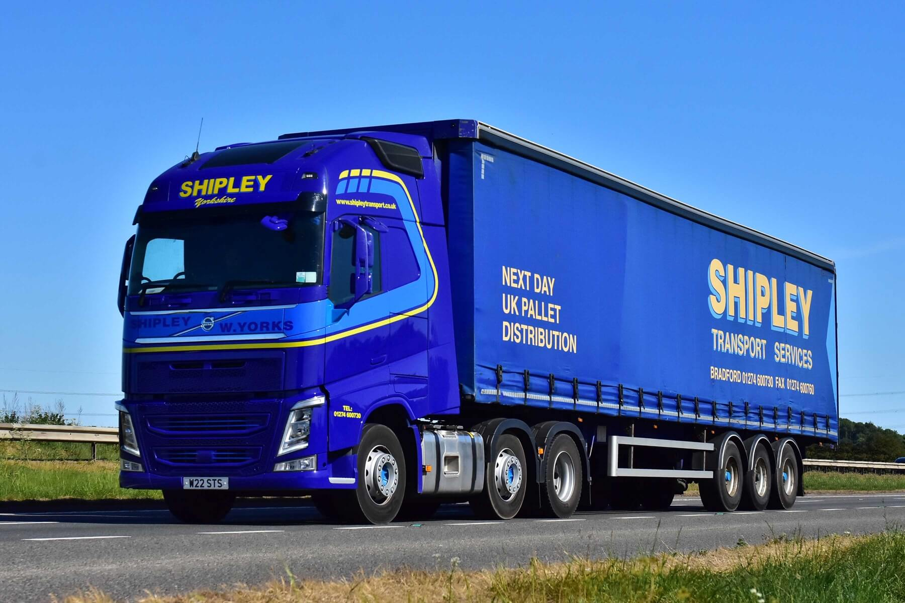 Shipley Transport - Haulage near Leeds, Yorkshire - Delivering nationwide